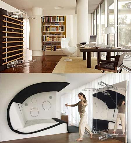 stylischer hometrainer. Black Bedroom Furniture Sets. Home Design Ideas